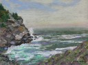 Pounding Surf At Whitehead, Monhegan Island