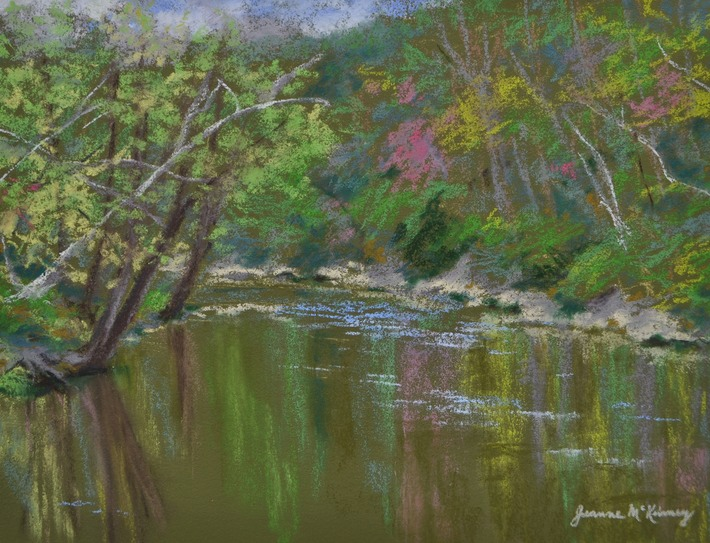 Spring Splendor On The Little Juniata River